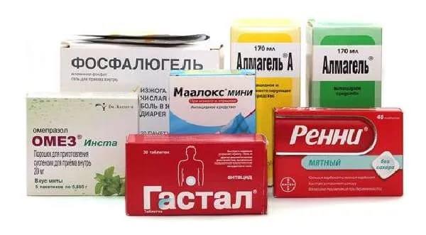 обострение гастрита лечение препараты