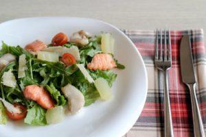 рыбные салаты при язве желудка рецепты